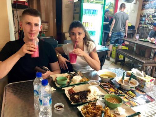 Pochutnanie v Singapure