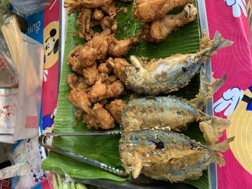 Bangkok street food market