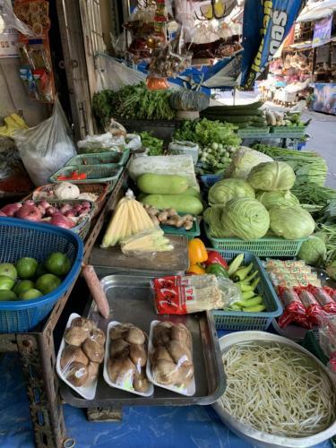 Bangkok trh na ulici