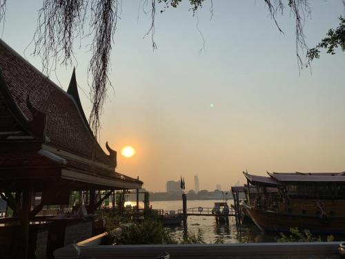 Bangkok západ slnka